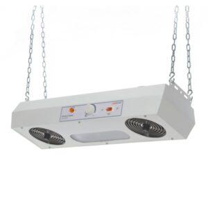 Overhead ionizers