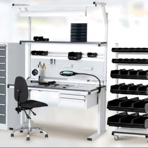 Complete workplaces and accessories